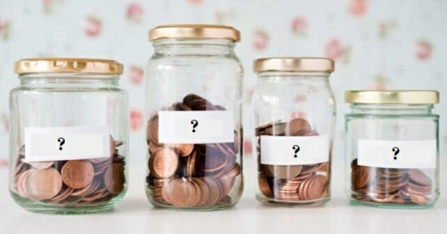 the habit of saving money