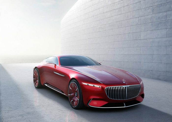 Mercedes Benz Design Vision Mercedes Maybach 6